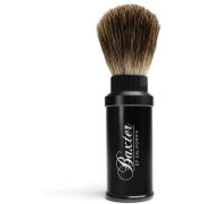 Pure Badger Hair Travel Aluminium Shave Brush - 838364000011