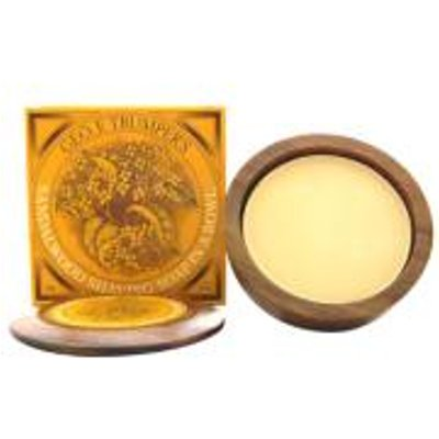 Trumpers Wooden Shave Bowl   Sandalwood  Normal Skin  - 5038607095384