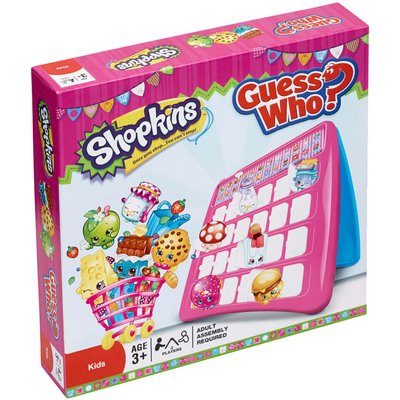 Guess Who? Board Game - Shopkins Edition