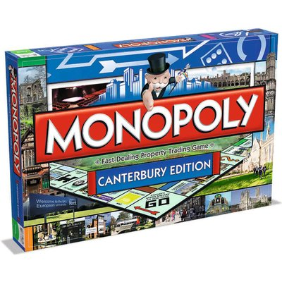 Monopoly Board Game - Canterbury Edition