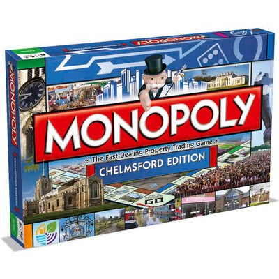 Monopoly Board Game - Chelmsford Edition