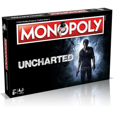 Monopoly Board Game - Uncharted Edition