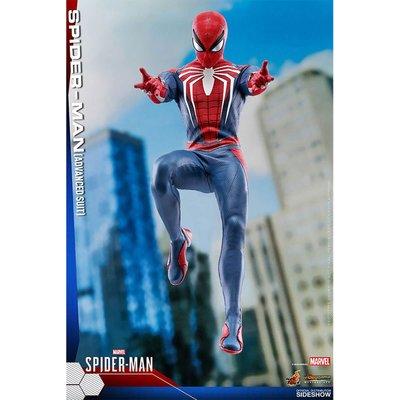 Hot Toys Marvel's Spider-Man Videogame Masterpiece Action Figure 1/6 Spider-Man Advanced Suit 30cm