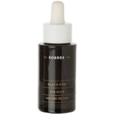 KORRES Black Pine Anti Wrinkle and Firming Face Serum Bottle and Dropper  30ml  - 5203069046797