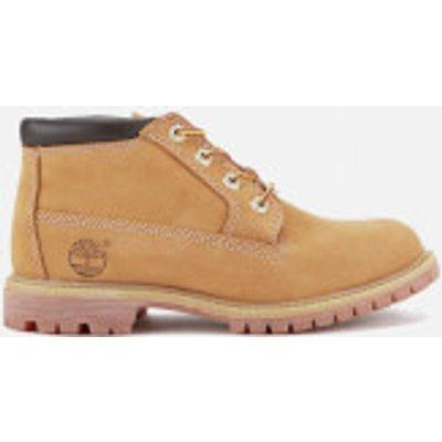 Timberland Women s Nellie Double Waterproof Chukka Boots   Wheat   UK 7   Tan - 768372870026