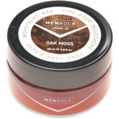 Men Rock Oak Moss Moustache Wax  25ml  - 633090058349