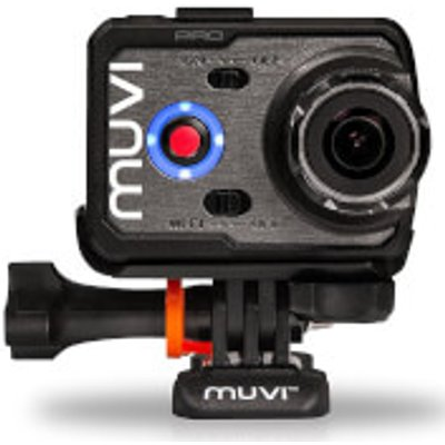 Veho Muvi K-Series Handsfree Camera with Wi-Fi, 1080p, 60fps, 100m Waterproof Case, 8GB Bundle