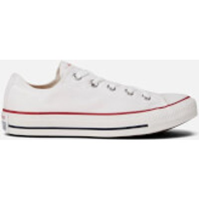 Converse Chuck Taylor All Star Ox Canvas Trainers - Optical White - UK 4.5 - White