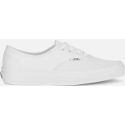 Vans Authentic Canvas Trainers - True White - UK 11