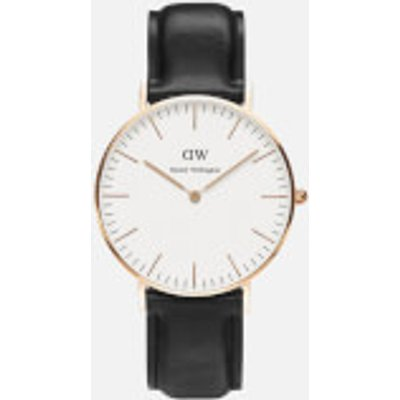 Daniel Wellington Women s Sheffield Rose Watch   Black - 7350068240409