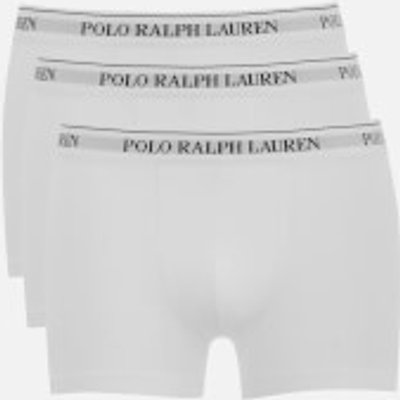 4045235824003 | Polo Ralph Lauren Men s 3 Pack Pouch Boxer Shorts   White   M