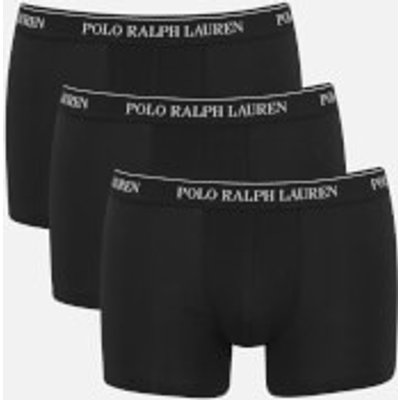 4045235823945 | Polo Ralph Lauren Men s 3 Pack Trunk Boxer Shorts   Black   M