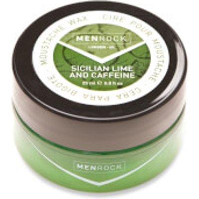 Men Rock Awakening Moustache Wax   Sicilian Lime and Caffeine - 0617375452749