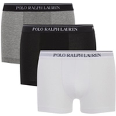 3611585688322 | Polo Ralph Lauren Men s 3 Pack Boxer Shorts   White Heather Black   M