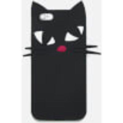 Lulu Guinness Women s Kooky Cat iPhone 6 Case   Black - 5060500334086