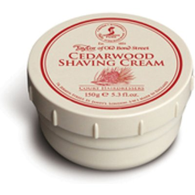 Taylor of Old Bond Street Shaving Cream Bowl   Cedarwood  150g  - 696770010129