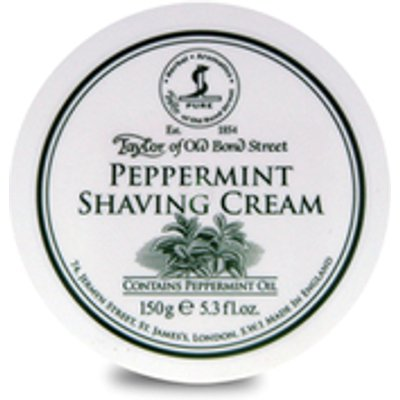 Taylor of Old Bond Street Peppermint Shaving Cream  150g - 696770010181