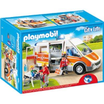 Playmobil City Life Ambulance with Light and Sound (6685)