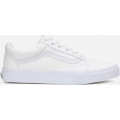 Vans Old Skool Trainers - True White - UK 10