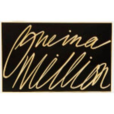 Lulu Guinness Women s Olivia  One In A Million  Clutch   Black Gold - 5060405831789
