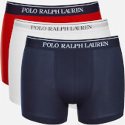 Polo Ralph Lauren Men s 3 Pack Boxer Shorts   White Red Blue   L 3607997816583
