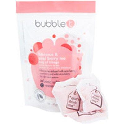 Bubble T Bath Infusion T Bags   Hibiscus   Acai Berry Tea 10 x 40g - 5053322009997