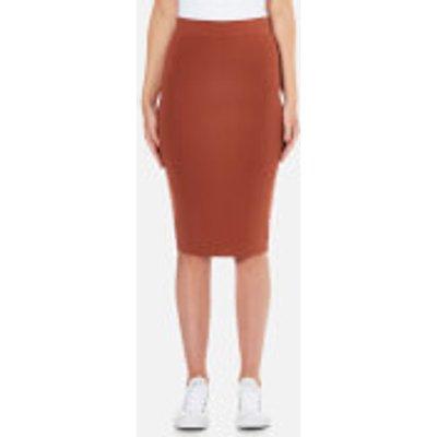 Selected Femme Women s Mirja Knitted Skirt   Rustic Brown   XS UK 6   Brown - 5713028528825