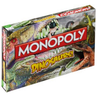 Monopoly Board Game - Dinosaurs Edition