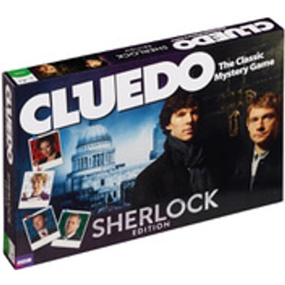 Cluedo Mystery Board Game - Sherlock Edition