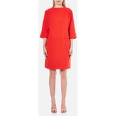 Selected Femme Women s Flava 7 8 Dress   Flame Scarlet   EU 38 UK 10   Red - 5713232284234