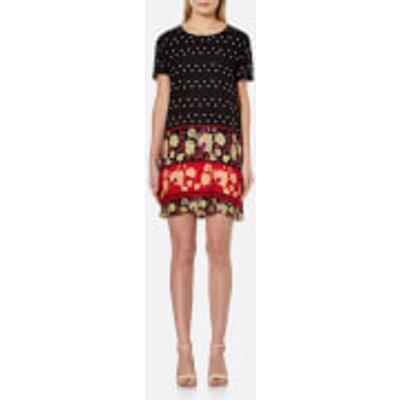 MINKPINK Women s Fallen T Shirt Dress   Multi   L   Multi - 9349391735933