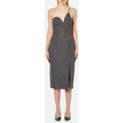 C MEO COLLECTIVE Women s No Competition One Strap Dress   Black Dot   M   Multi - 9348936797894