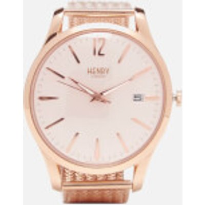 Henry London Shoreditch Watch   Rose Gold - 5018479080862