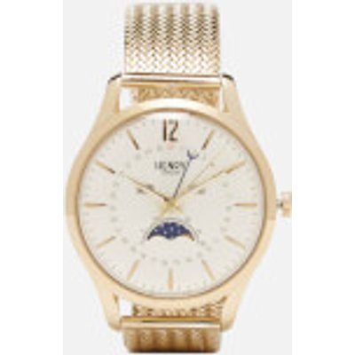 Henry London Westminster Moon Phase Watch   Gold - 5018479080831