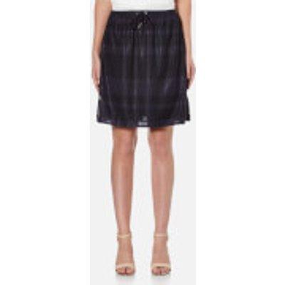Samsoe   Samsoe Women s Bonne Midi Skirt   Dark Sapphire   L   Blue - 5711450733572