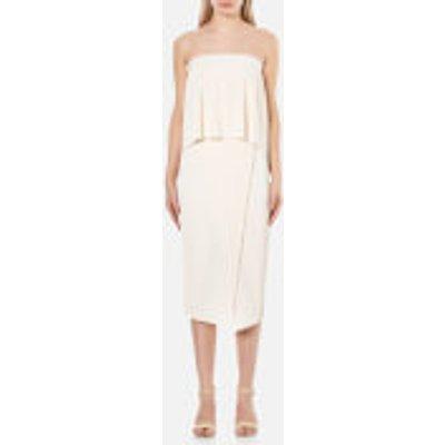 Bec   Bridge Women s Ellette Column Dress   Ivory   UK 6   White - 9339433134121