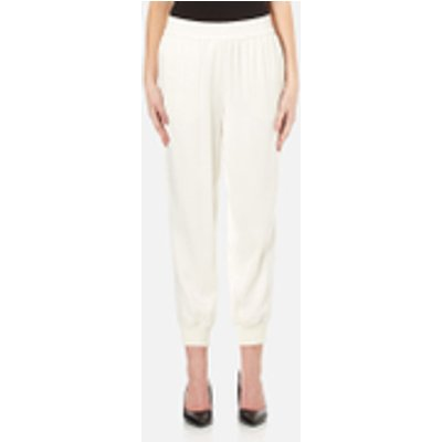 DKNY Women s Joggers with Ribbed Cuffs   Gesso   M   White - 795731725079