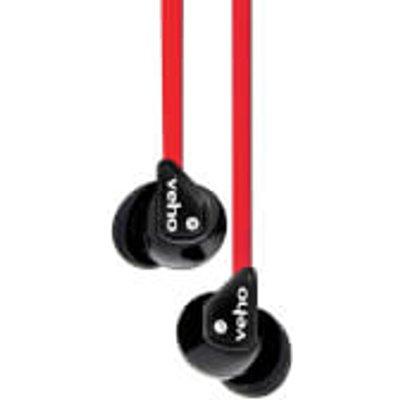 Veho 360 Stereo Noise Isolating Earphones   Red - 040232924040