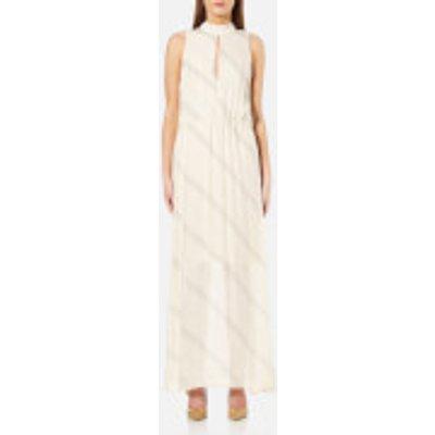 Samsoe   Samsoe Women s Tonya Maxi Dress   Raye   XS   Cream - 5711450811584