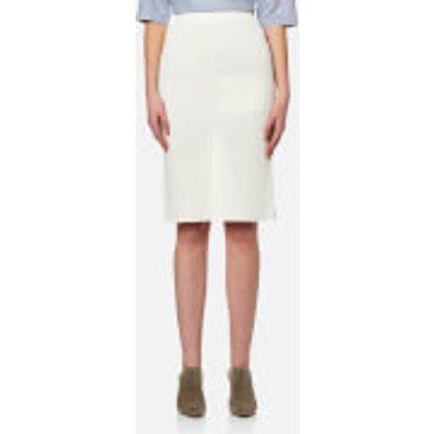 Paisie Women s Knitted Skirt   White   M   White - 5053578002445