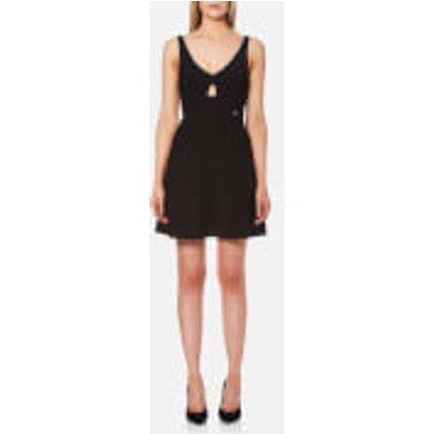 Guess Women s Ann Mini Dress   Jet Black   L   Black - 7613351578246