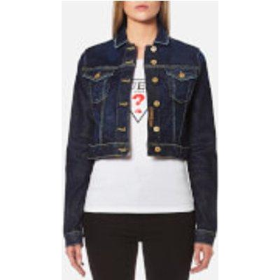 Guess Women s Tokyo Denim Cropped Jacket   Kind   L   Blue - 7613351610007