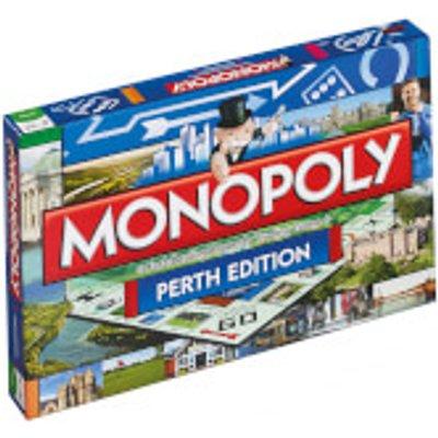 Monopoly Board Game - Perth Edition