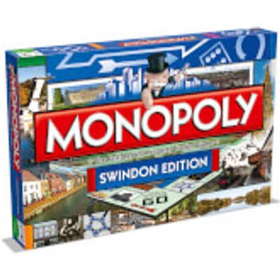Monopoly Board Game - Swindon Edition