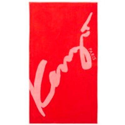 KENZO Signe Beach Towel   Rouge - 3152209020031