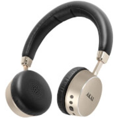 Akai DYNMX Wireless Bluetooth Headphones   Champagne - 5056032902657