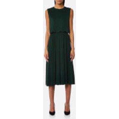 Samsoe   Samsoe Women s Judy Open Back Dress   Green   M   Green - 5711450999442