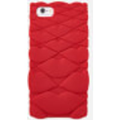 Lulu Guinness Women s Quilted Lips iPhone 6 7 Case   Red - 5060500330972
