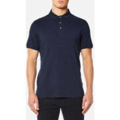 Michael Kors Men s Mini Jacquard Polo Shirt   Midnight   S   Blue - 191214036920
