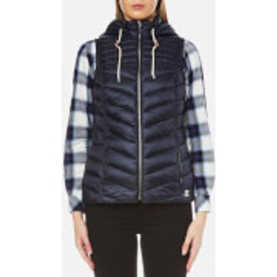 Barbour Women s Lowmoore Quilt Gilet   Dark Navy   UK 10   Blue - 190375410891